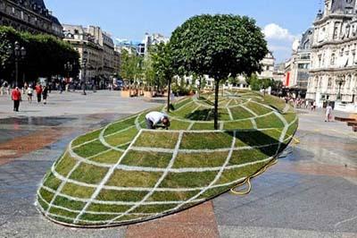 تاثیر فضای سبز بر محیط زیست شهری